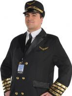 Captain Wingman Pilot Costume (12567)